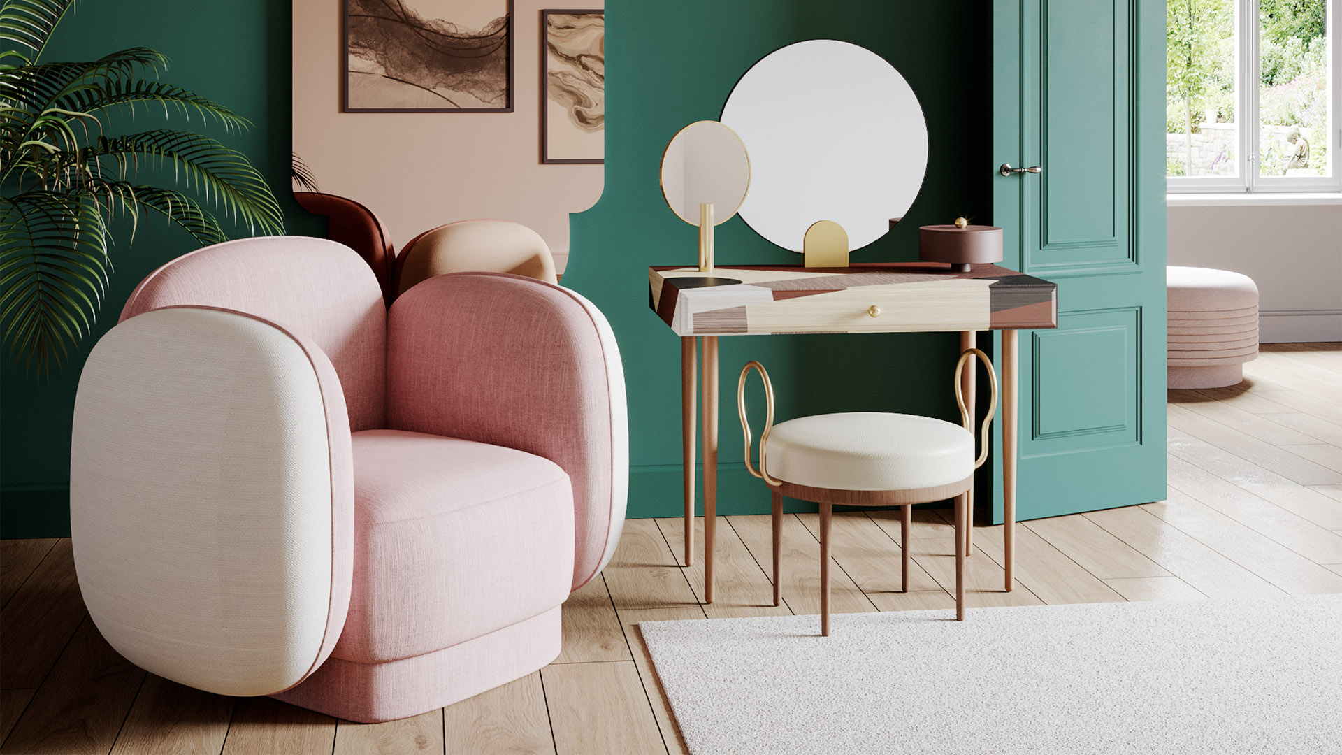 1-banner-major-tom-seaters-armchairs-pink-beige-maison-dada