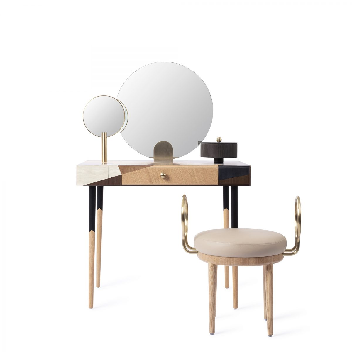 1-maison-dada-rose-selavy-stool-buffets&cabinets-writing-desks-marquetry front