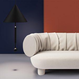Sumo Sofa - Uniform Melange - 0103