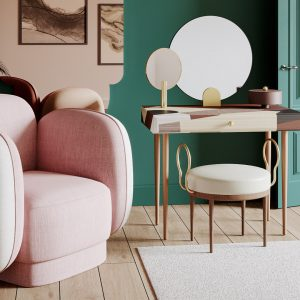 banner for major-tom-seaters-armchairs-pink-beige-maison-dada